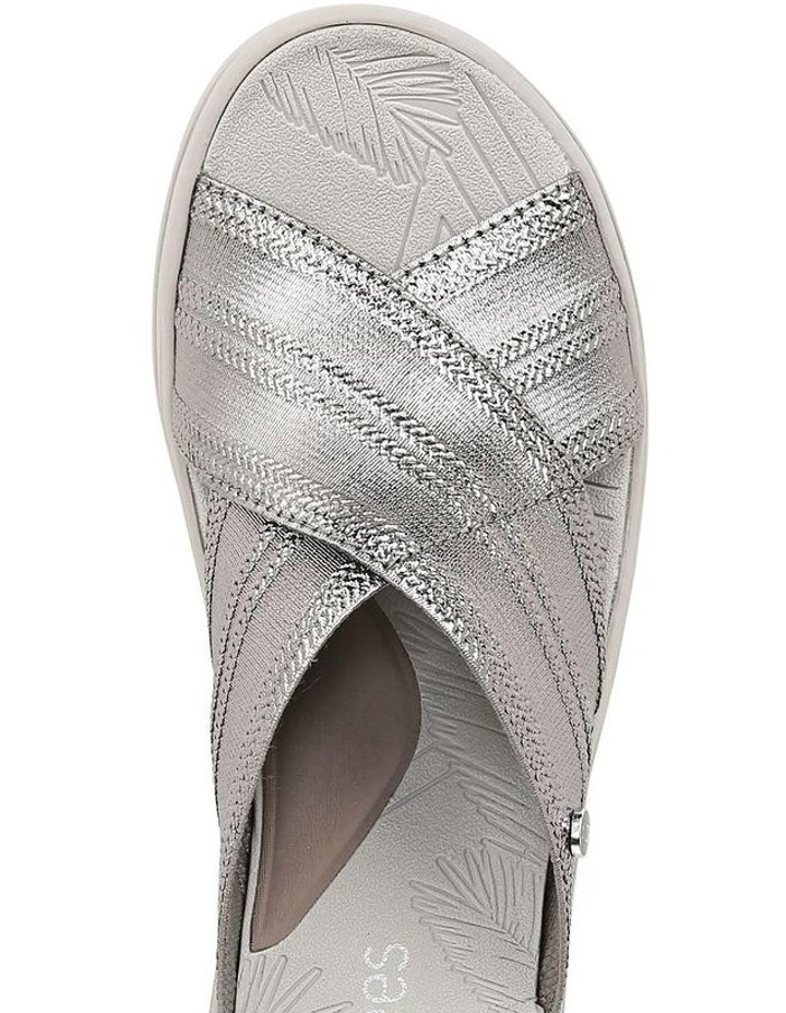 Vista Charcoal Metallic Sandal image 4