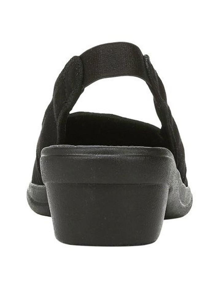 Mirage Black Sandal image 3