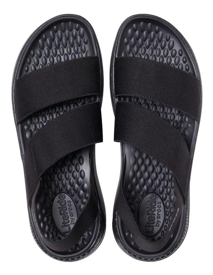 Literide Stretch 206081 Black/Black Sandal image 2