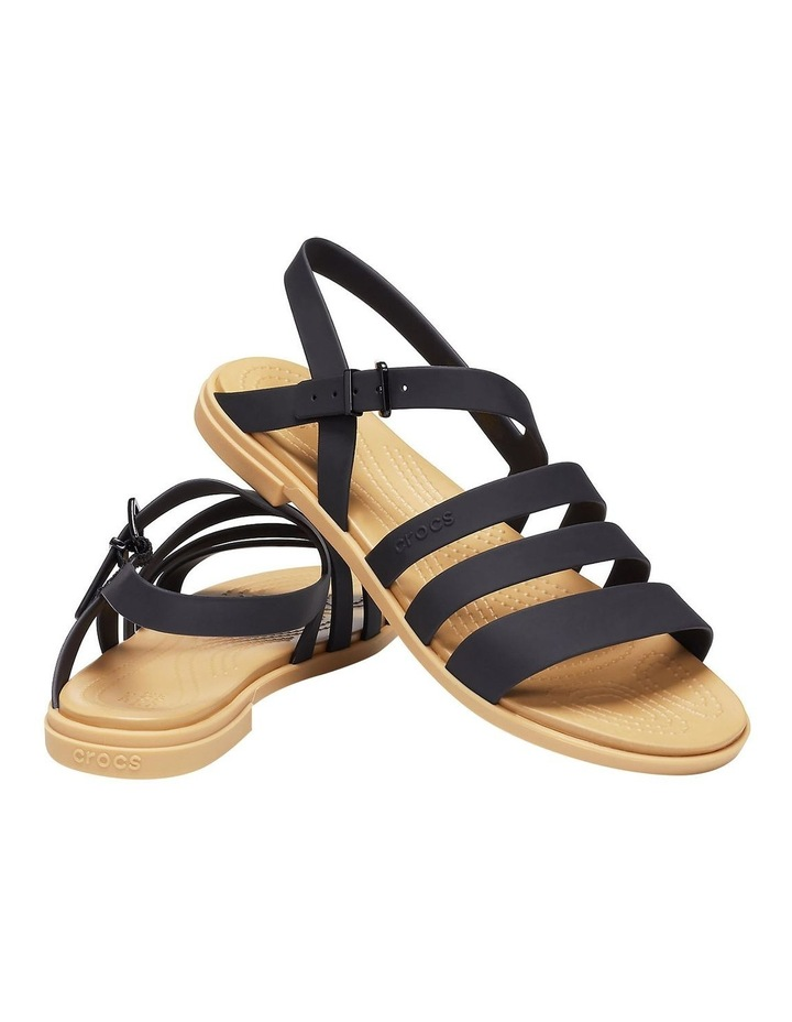 Tulum 206107 Black/Tan Sandal image 1
