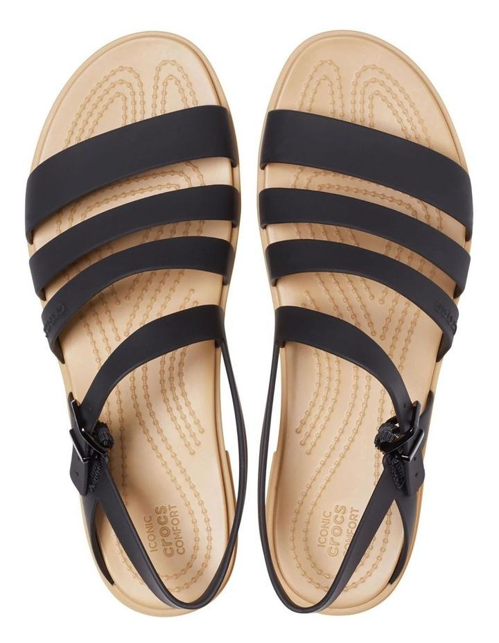 Tulum 206107 Black/Tan Sandal image 3