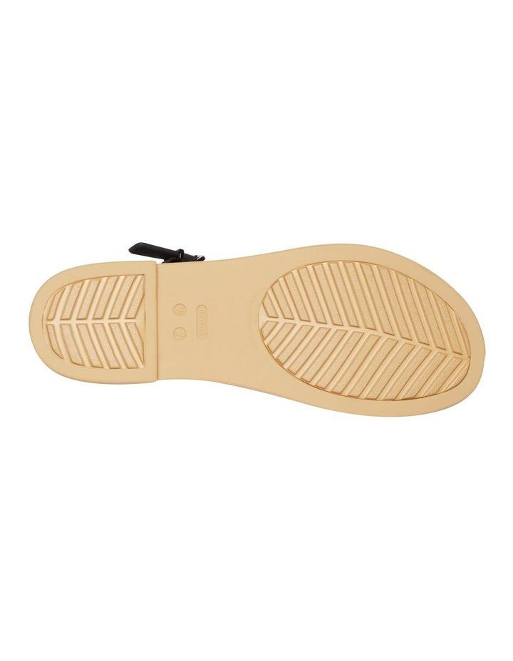 Tulum 206107 Black/Tan Sandal image 4