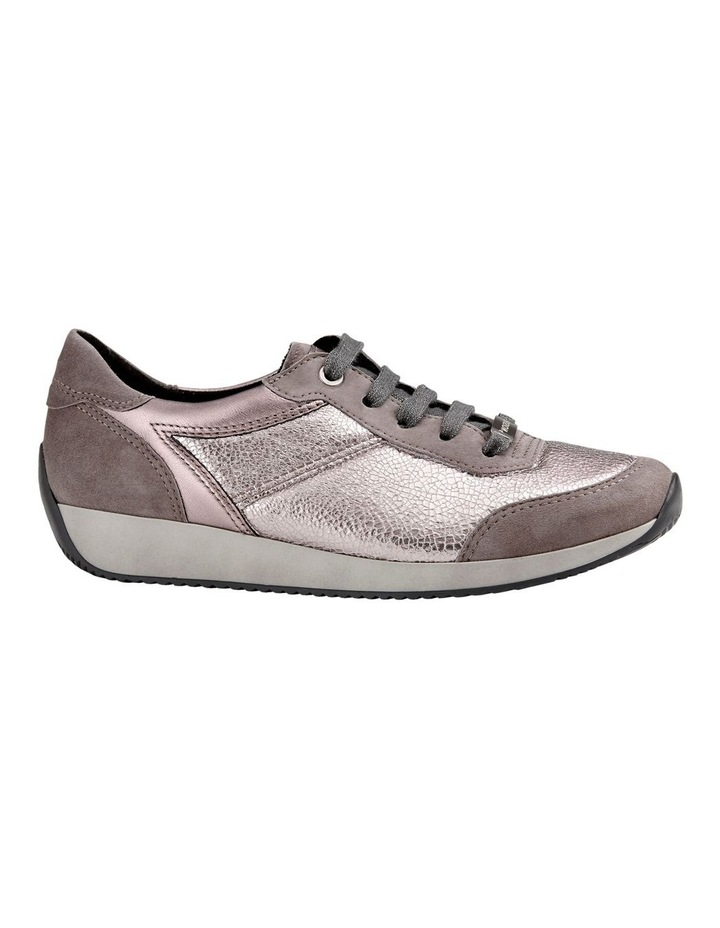 ARA LISSABON FUSION4 TAUPE SUEDE SNEAKER image 1