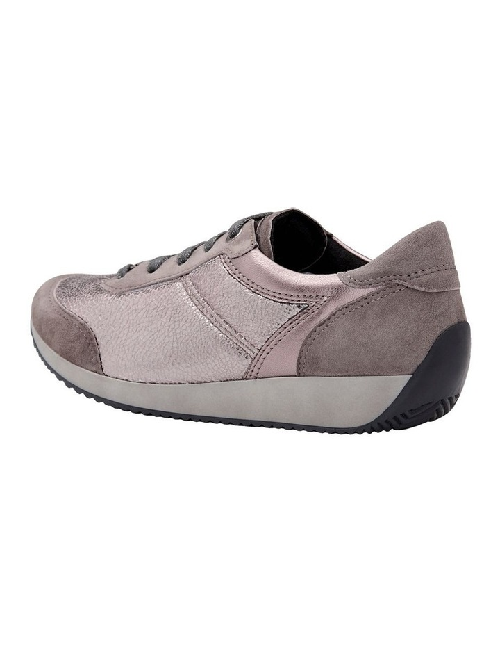 ARA LISSABON FUSION4 TAUPE SUEDE SNEAKER image 2