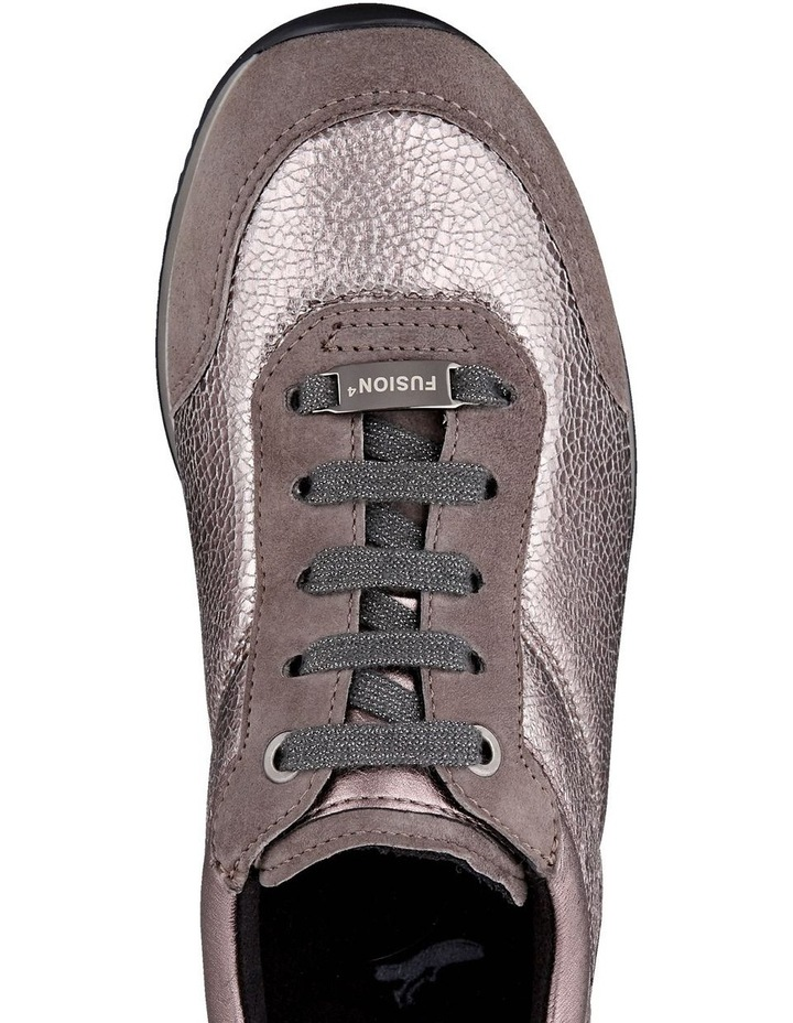 ARA LISSABON FUSION4 TAUPE SUEDE SNEAKER image 3