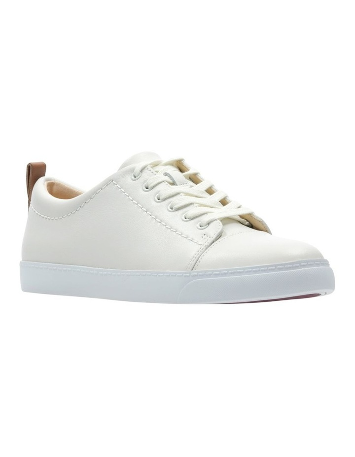 Glove Echo White Leather Sneaker image 2