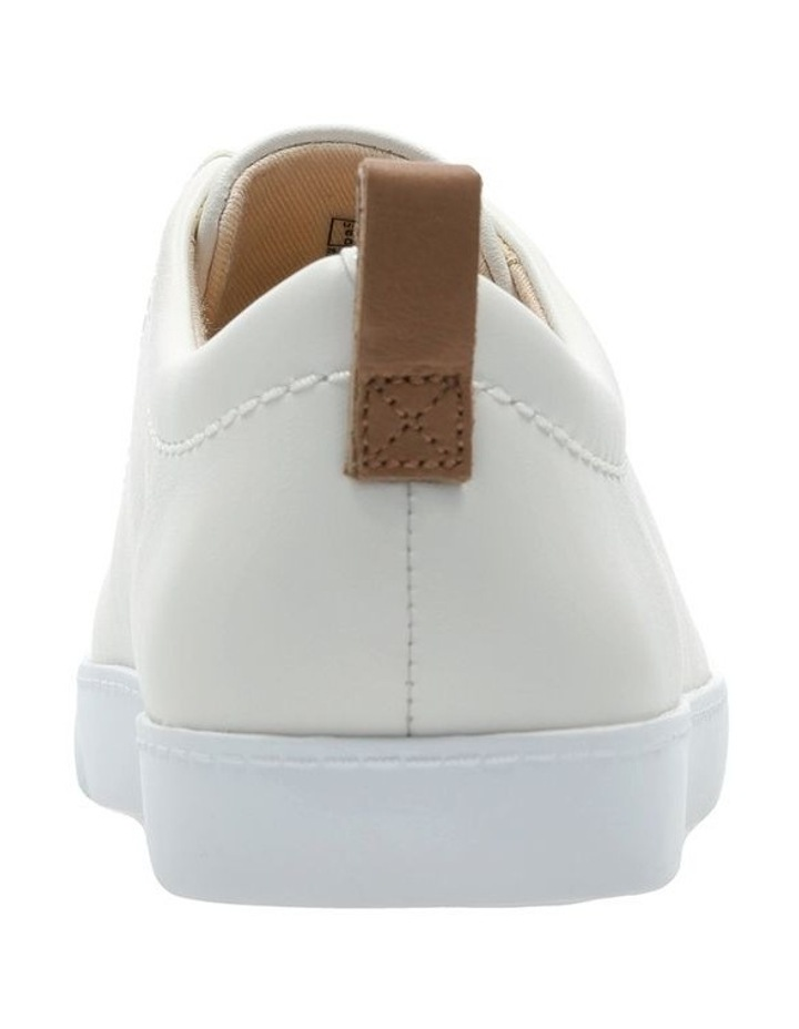Glove Echo White Leather Sneaker image 5