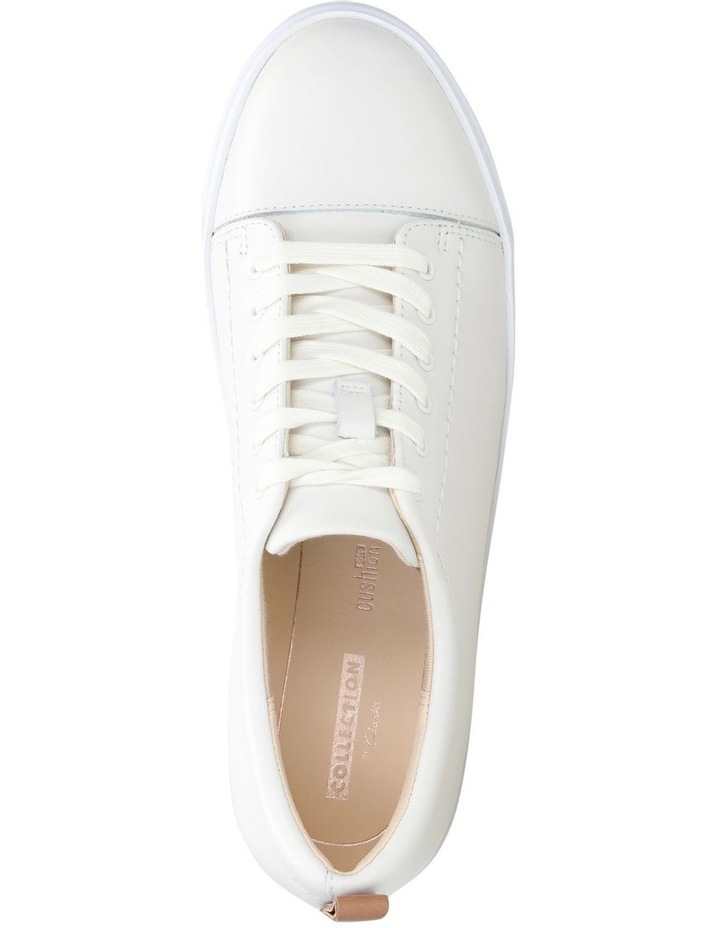 Glove Echo White Leather Sneaker image 6