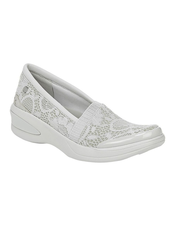 Flirty Light Grey Floral Sneaker image 2