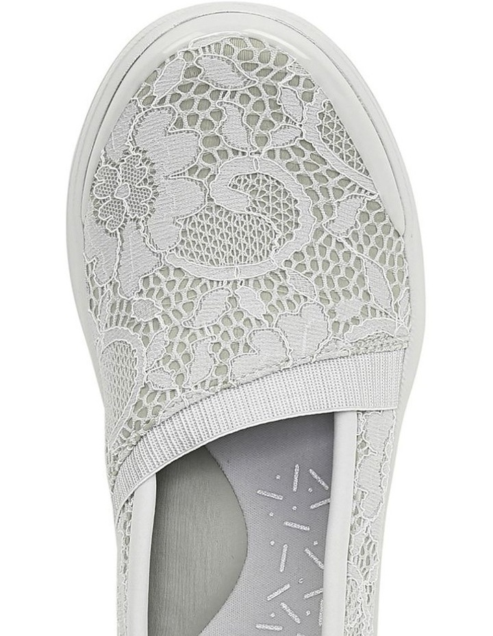 Flirty Light Grey Floral Sneaker image 4