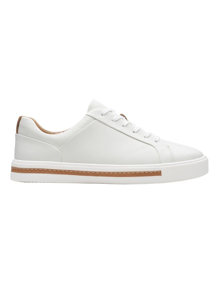 Un Maui Lace White Leather Sneaker image 1