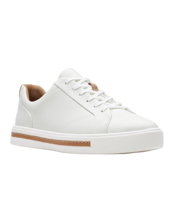 Un Maui Lace White Leather Sneaker image 2