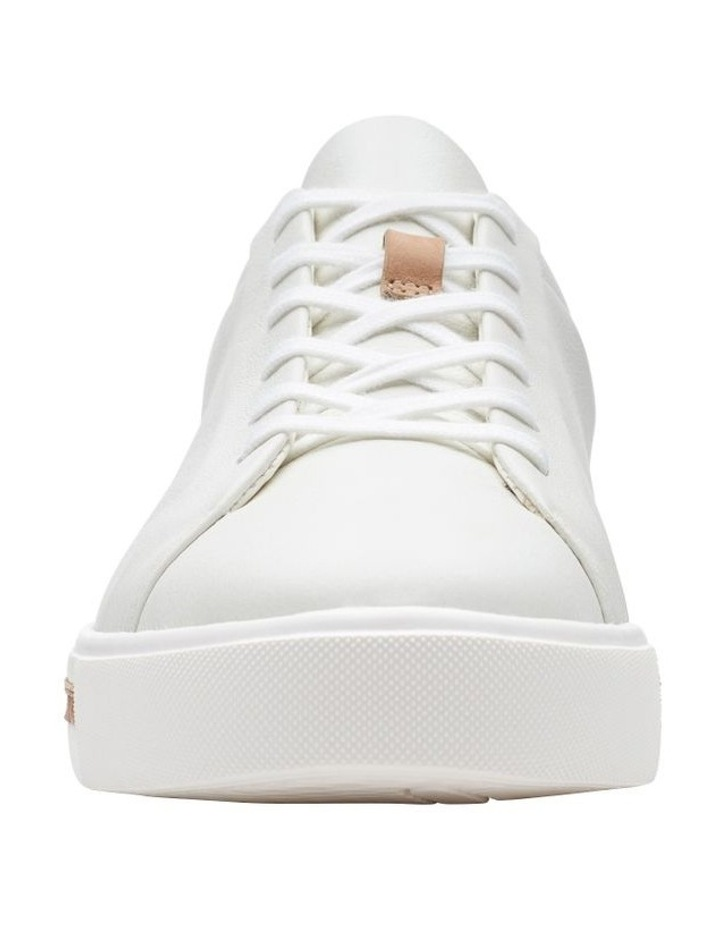 Un Maui Lace White Leather Sneaker image 3