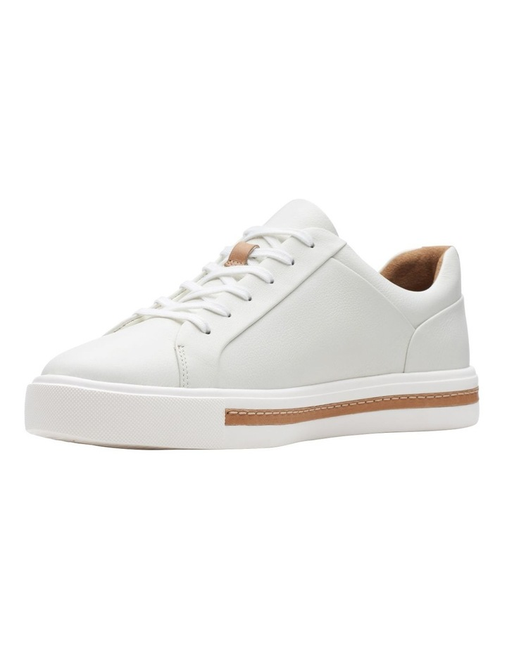 Un Maui Lace White Leather Sneaker image 4