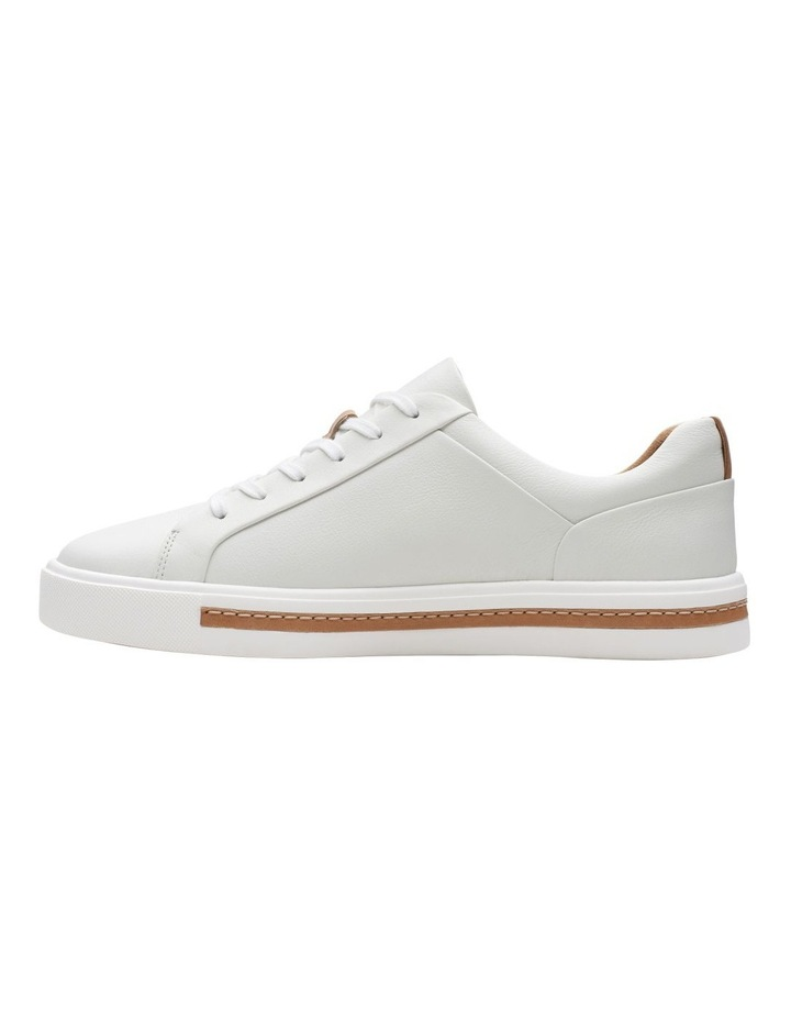 Un Maui Lace White Leather Sneaker image 5