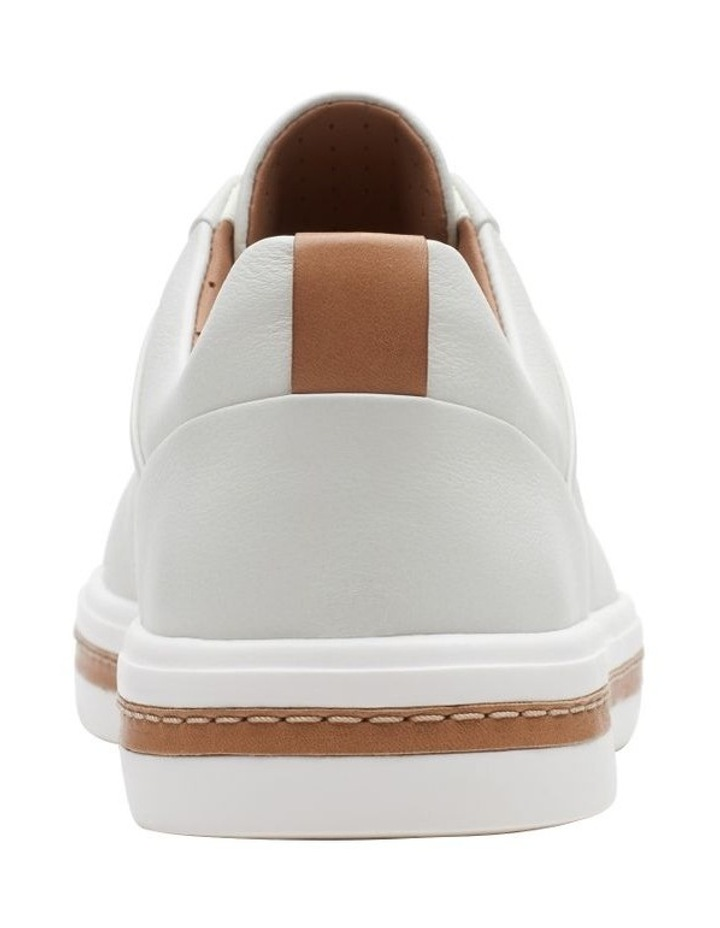 Un Maui Lace White Leather Sneaker image 6