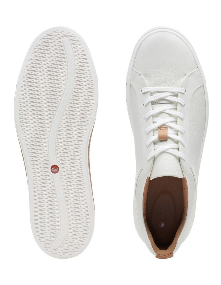 Un Maui Lace White Leather Sneaker image 7