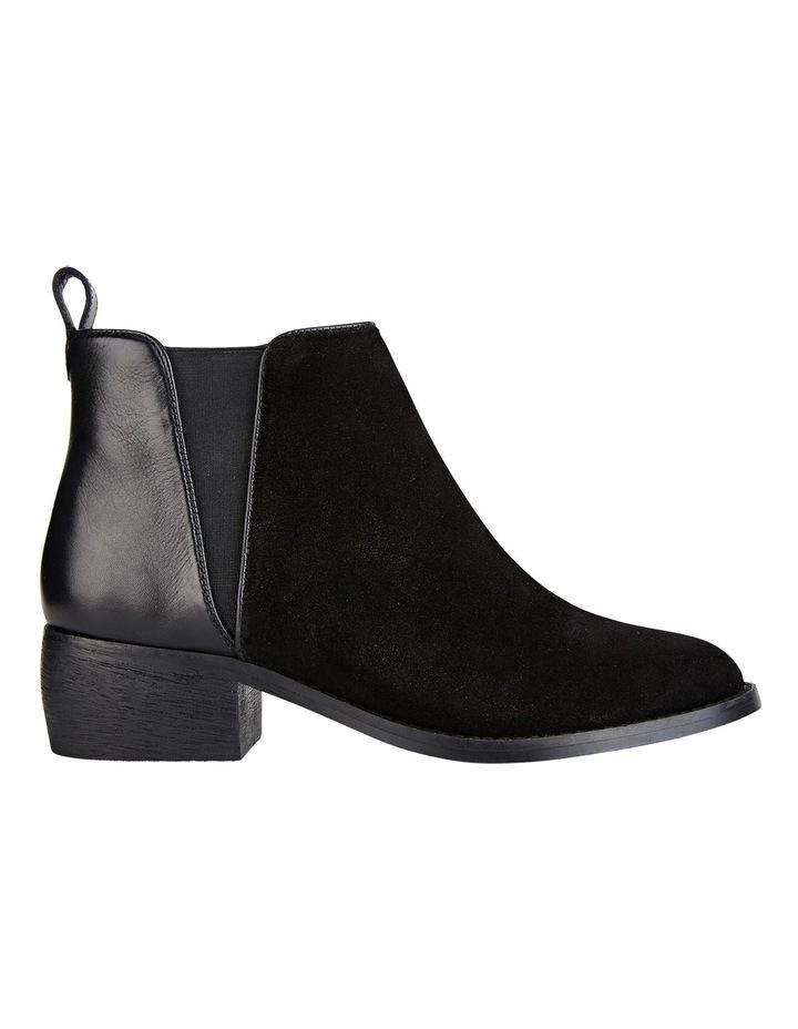 Deluxe Black Suede Boot image 1