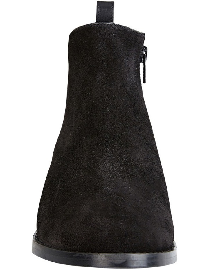 Deluxe Black Suede Boot image 2