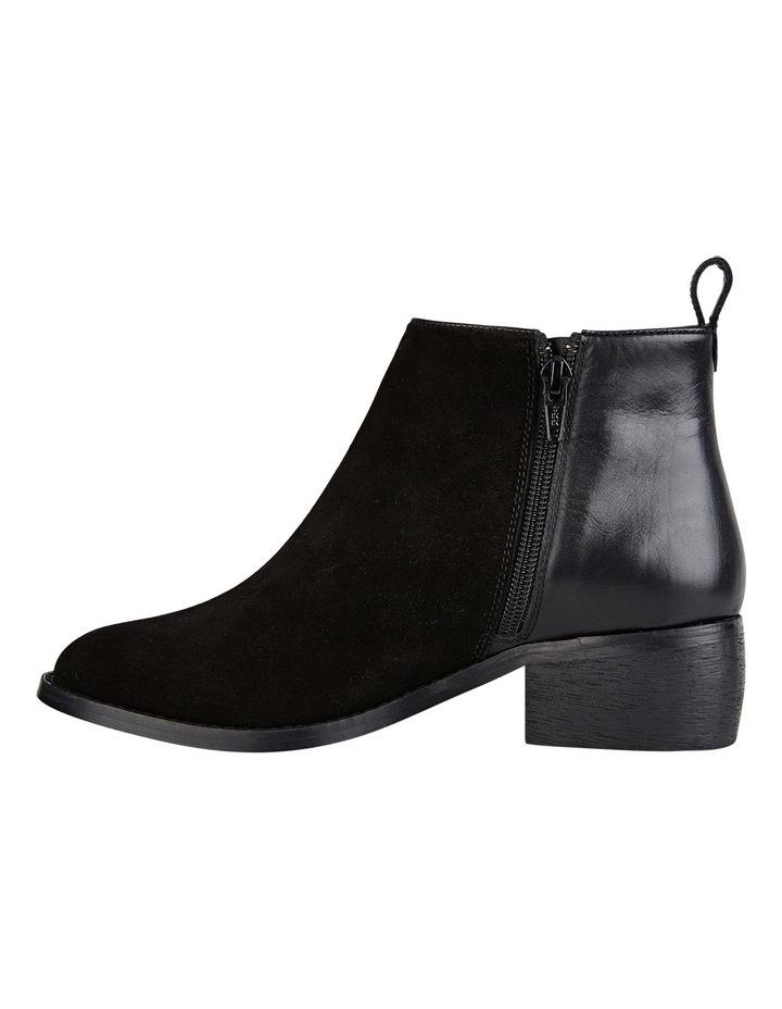 Deluxe Black Suede Boot image 4
