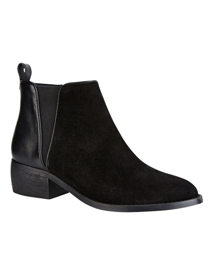 Deluxe Black Suede Boot image 5
