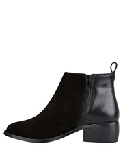 Hush Puppies - Deluxe Black Suede Boot