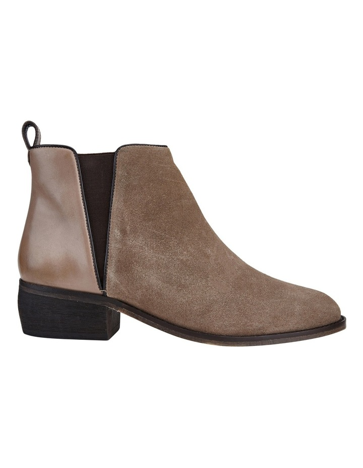Deluxe Taupe Suede Boot image 1