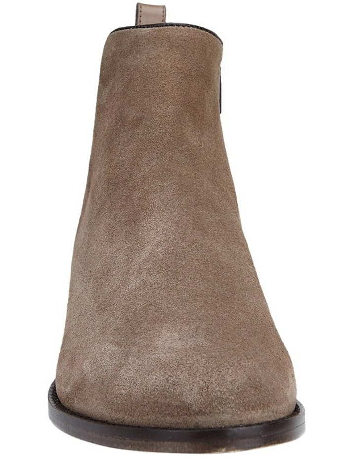 Deluxe Taupe Suede Boot image 2