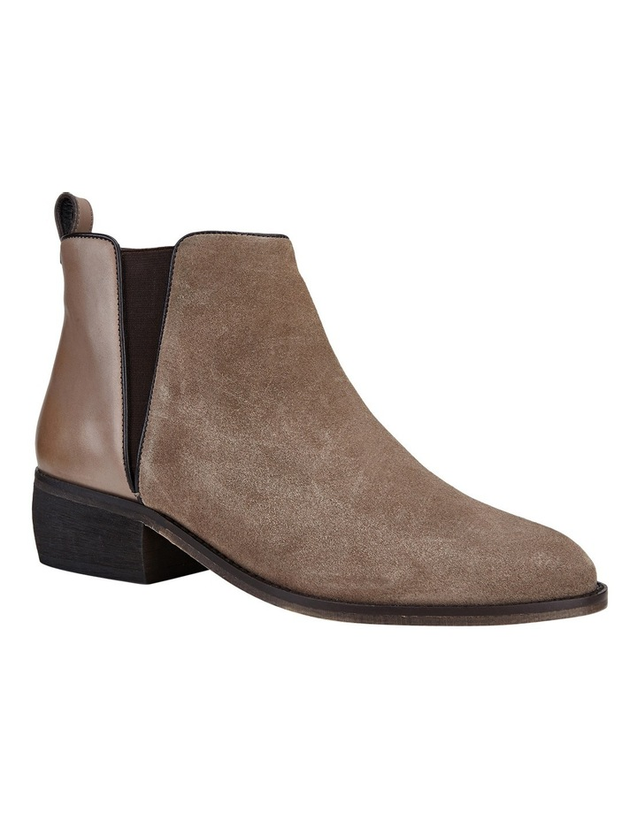 Deluxe Taupe Suede Boot image 5