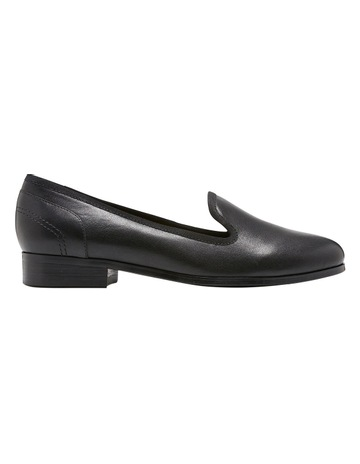 e68c3d54a1ee Hush PuppiesFantastic Black Leather Loafer. Hush Puppies Fantastic Black Leather  Loafer
