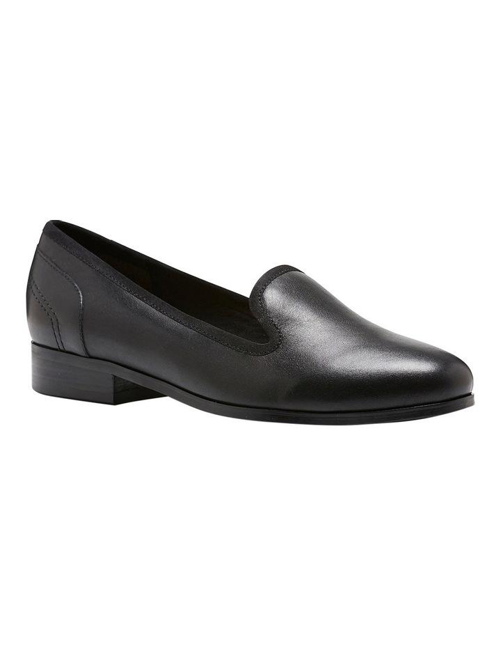 Fantastic Black Leather Loafer image 2