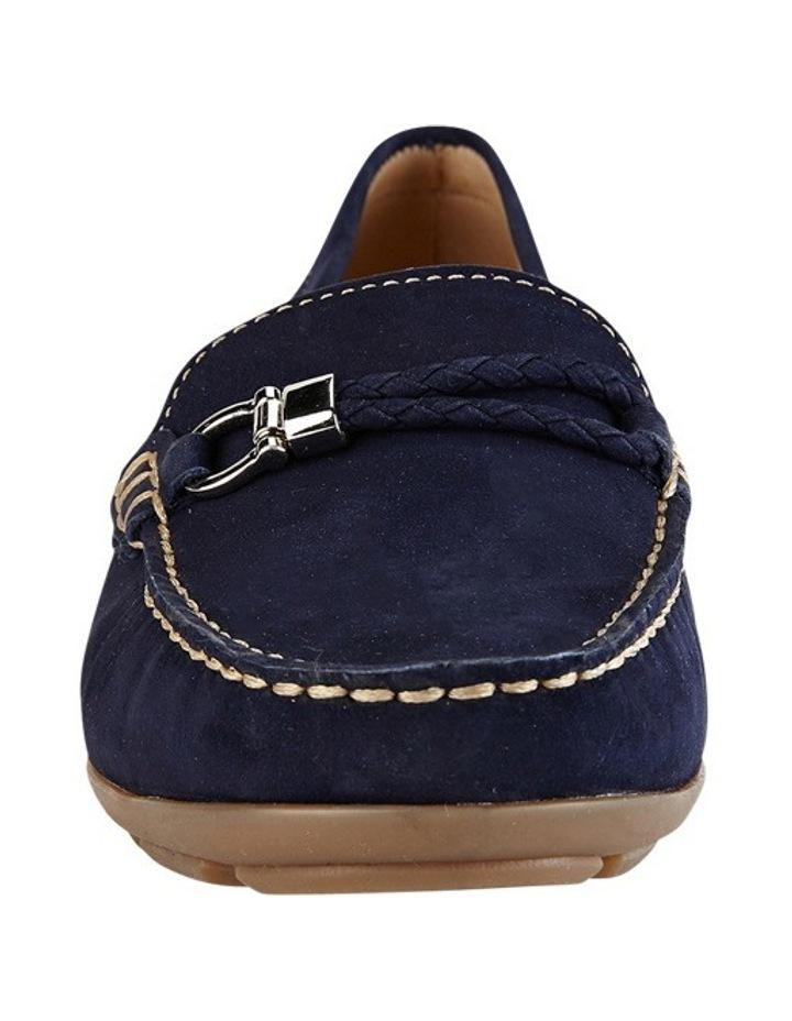 Renita Navy Nubuck Loafer image 4