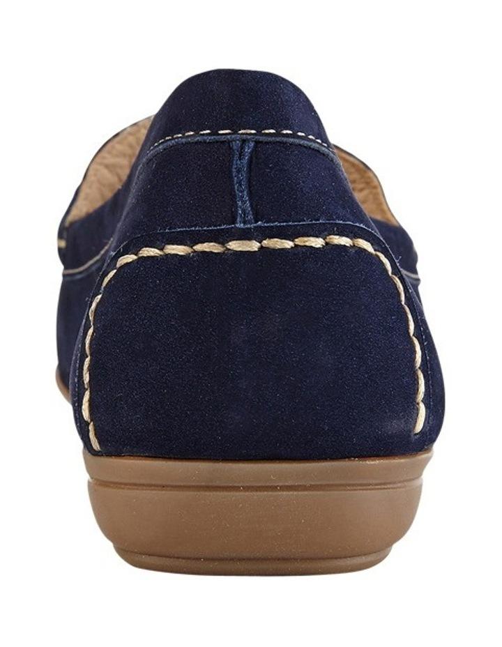 Renita Navy Nubuck Loafer image 6