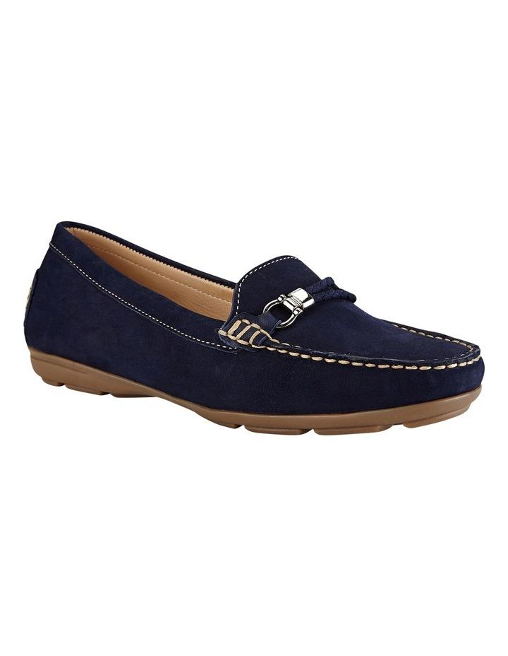Renita Navy Nubuck Loafer image 10