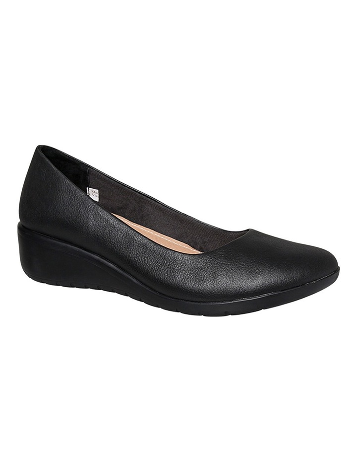 Dylan Black Leather Pump image 4