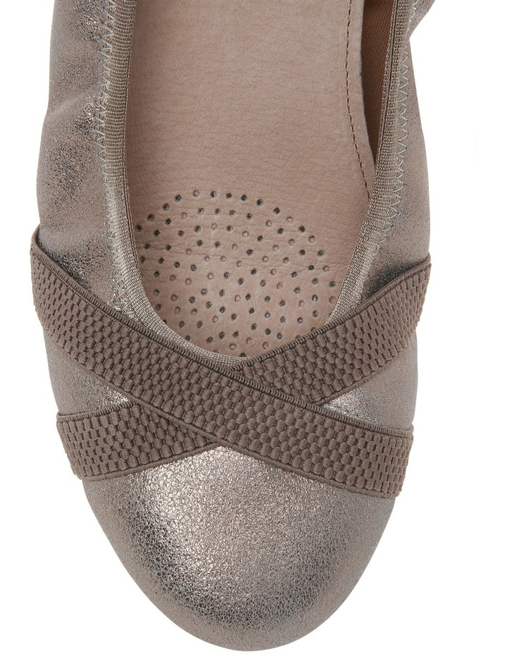 Algarve Taupe Metallic Pump image 3