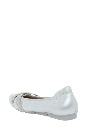Hush Puppies - Algarve Silver Metallic Pump