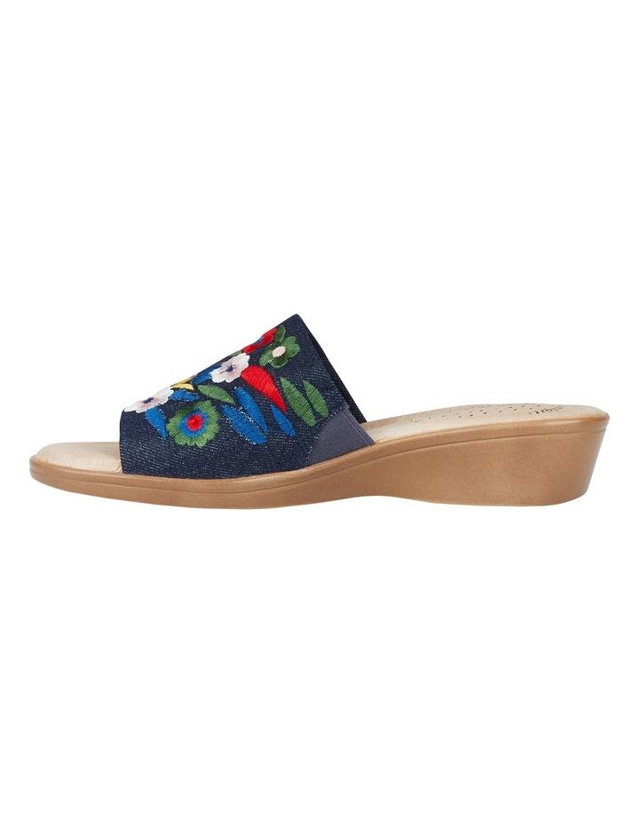 Coco Denim Embroidery Sandal image 6