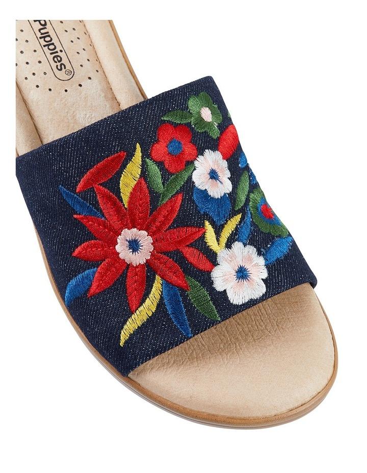 Coco Denim Embroidery Sandal image 8
