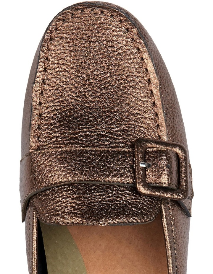 Supersoft by Diana Ferrari Melville Bronze Metallic Loafer image 3