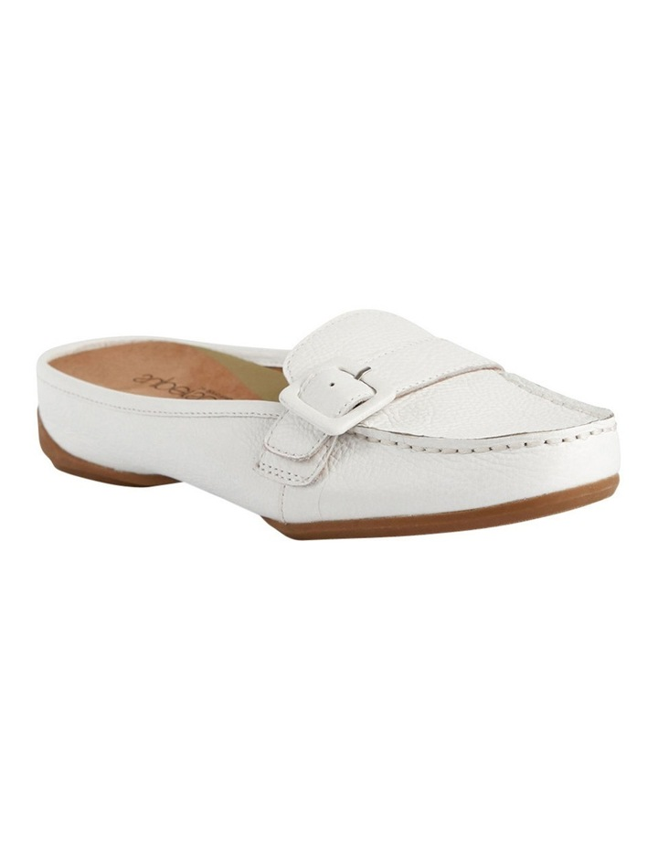 Supersoft by Diana Ferrari Melville White Loafer image 2