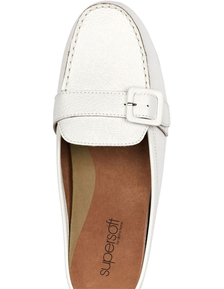 Supersoft by Diana Ferrari Melville White Loafer image 3