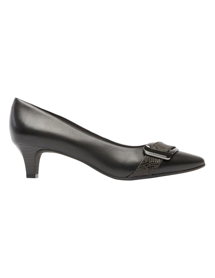 Lyberty Black/Embossed Pump image 2