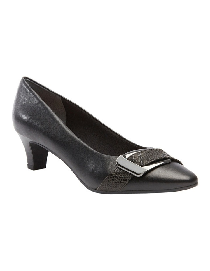 Lyberty Black/Embossed Pump image 4