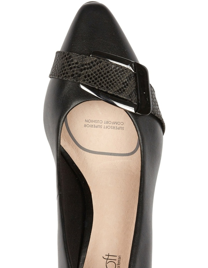 Lyberty Black/Embossed Pump image 6