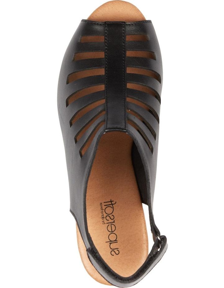 Inessa Black Sandal image 4