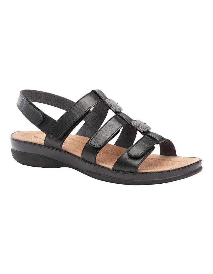 Sitara Black Sandal image 2