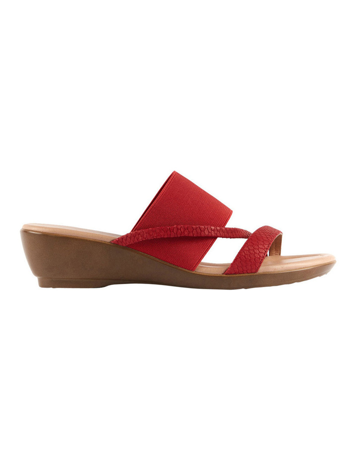 Penrose Fire Red Scale Sandal image 1