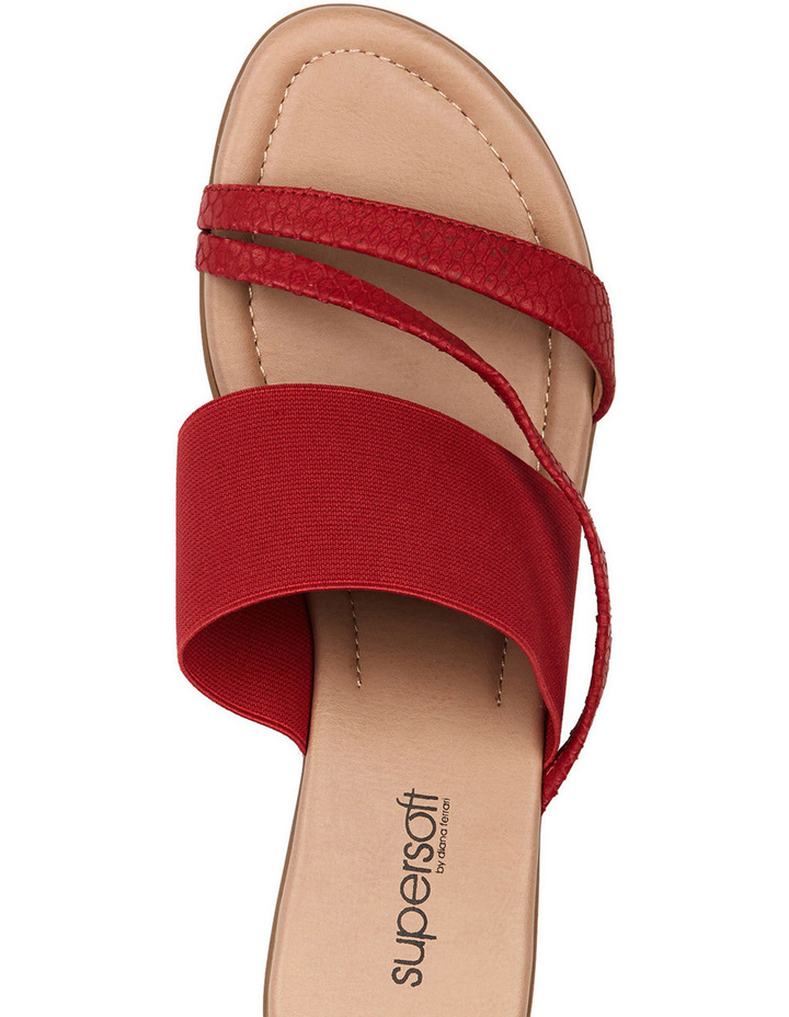 Penrose Fire Red Scale Sandal image 3