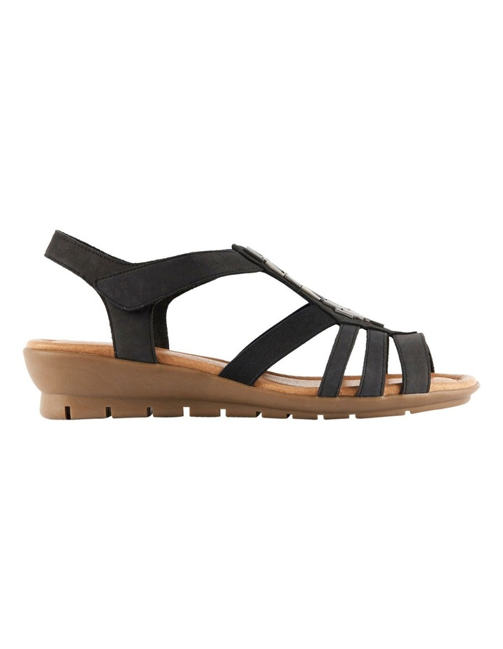 Supersoft by Diana Ferrari Fleet Charcoal Nap Sandal image 1